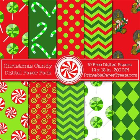 printable paper pack 534 best christmas scrapbook paper images on pinterest
