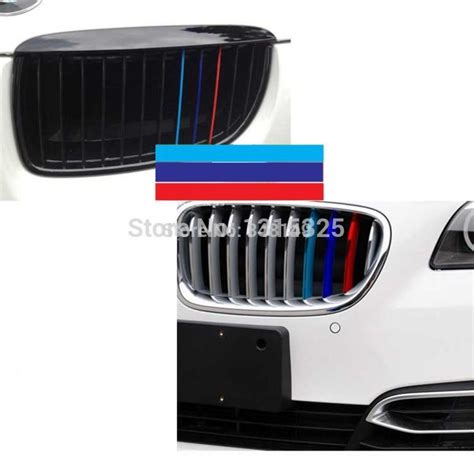 Sticker Bmw X1 by New Car Styling M Sports Stickers Front Grille Car