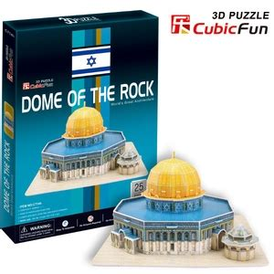 Best Seller Cubic Puzzle 3d The Dome Of The Rock Large Size puzzle 3d dome of the rock cubic zabawki