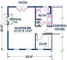 floor plans to add onto a house 1000 ideas about master bedroom addition on