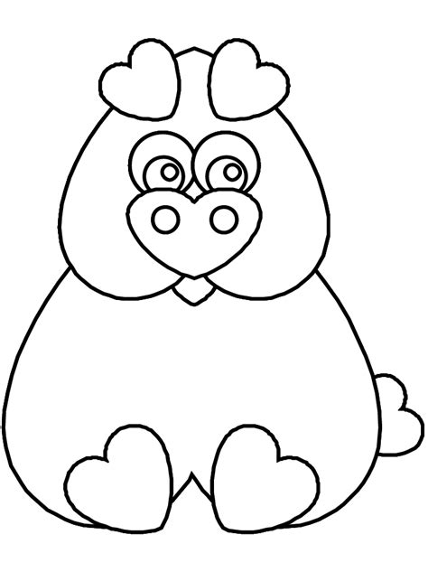 valentine pig coloring page free coloring pages of pig masks
