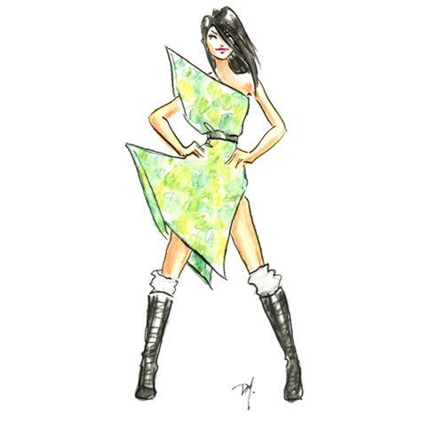 fashion illustration easy fashion illustrated camo challenge fashion