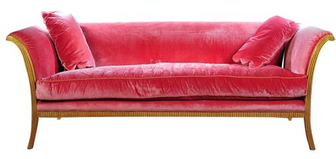 pink loveseats sally sirkin lewis quot sumptuous quot pink sofa chairish
