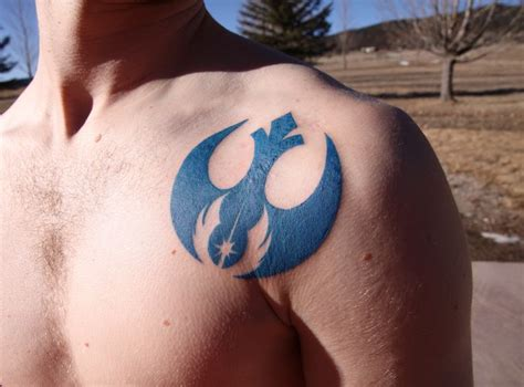 jedi tattoos 1000 ideas about rebel alliance on