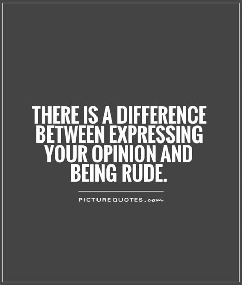 Rude Quotes And Sayings