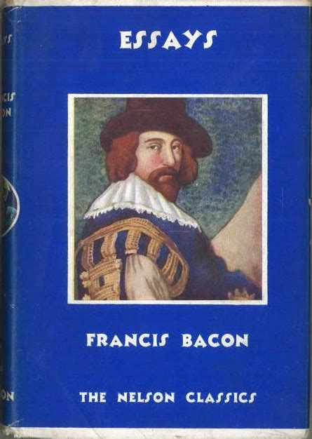 Essayist Bacon by Collection Nelson Francis Bacon