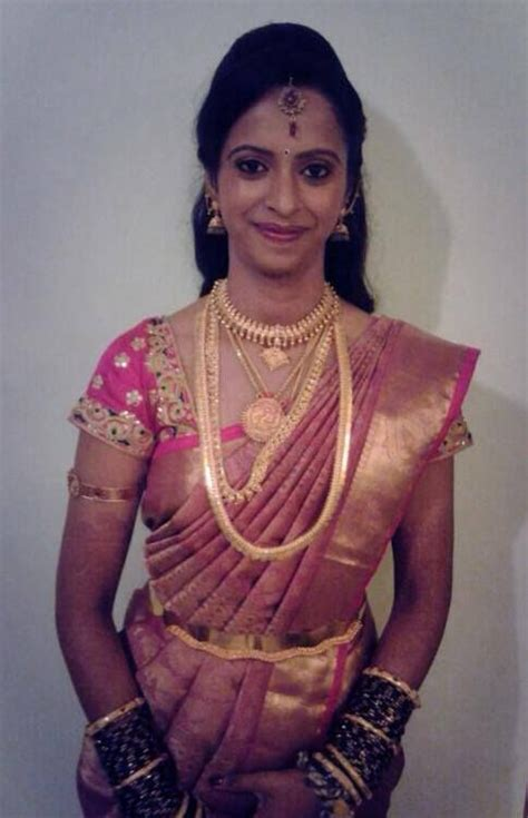 south indian saree draping traditional south indian bride wearing bridal saree and