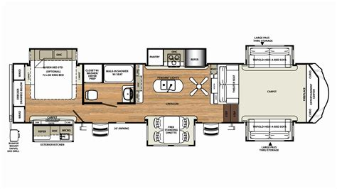 Sandpiper Travel Trailer Floor Plans | sandpiper travel trailer floor plans elegant forest river sandpiper 365saq for sale forest river