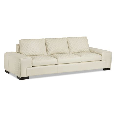 quilted couches hancock and moore 5571 3 donatella quilted sofa discount