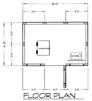 dark house plans dark house spearing plans
