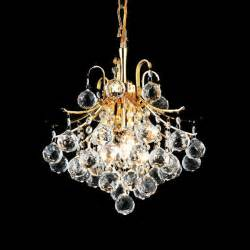 Small Chandelier Lights Toureg 3 Light Modern Mini Chandelier