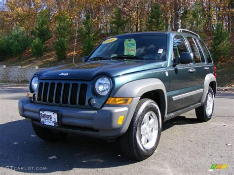 2006 green jeep liberty 2006 beryl green pearl jeep liberty crd sport 4x4