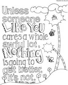 the lorax coloring pages the lorax inspired earth day coloring page