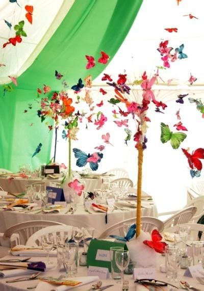 butterfly wedding theme decorations beautiful wedding decor with colorful 3d butterflies