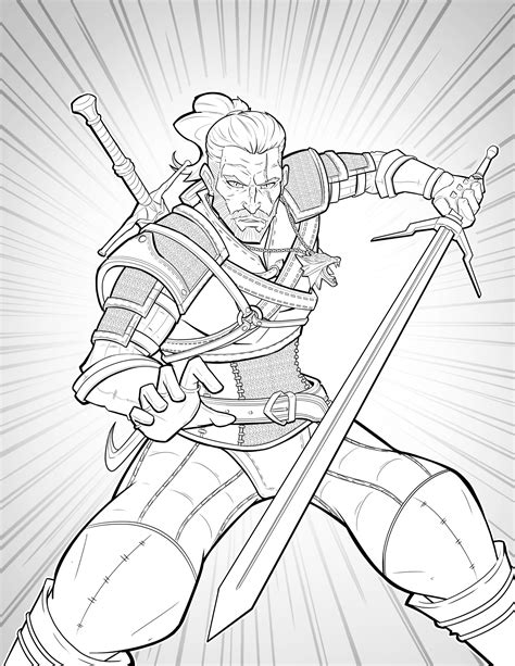 the witcher coloring book william puekker the witcher 3