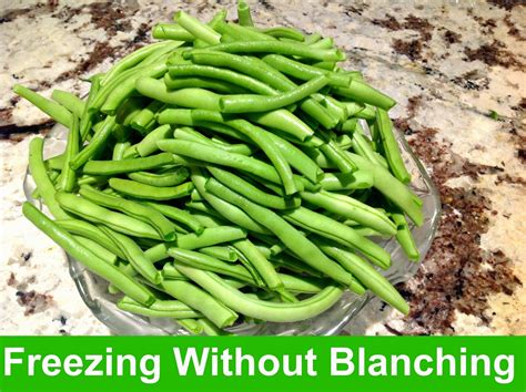 gluten free a z freeze string beans without blanching