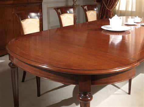 tavolo ovale allungabile tavolo ovale allungabile in noce vimercati meda