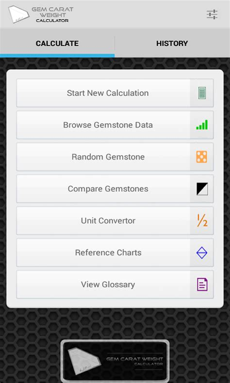 gem carat weight calculator android apps on play