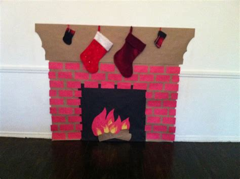 how to make a fireplace out of paper fireplace