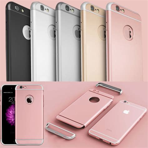 luxury ultra thin shockproof armor back cover for apple iphone 5 6s 7 plus ebay
