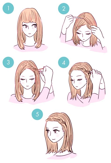 hairstyle in 3 minutes wonderful diy1