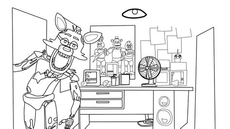 five nights at freddy s coloring book for and adults activity book books five nights at freddies free colouring pages