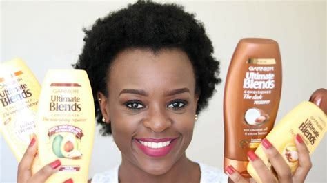 hair products to make hair curly for african amaerican hair garnier ultimate blends hair care range review south
