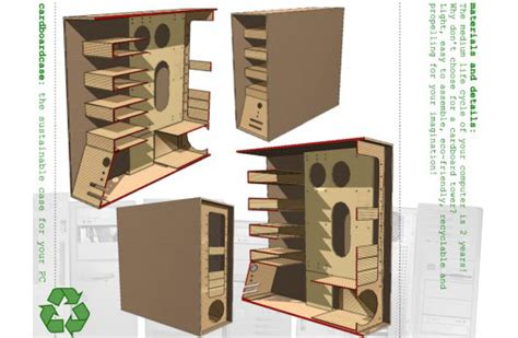 The Recycled Cardboard Computer Case Eliminates E Waste Inhabitat Green Design, Innovation