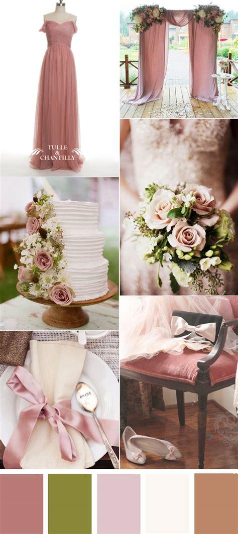 wedding color ideas tulle chantilly wedding