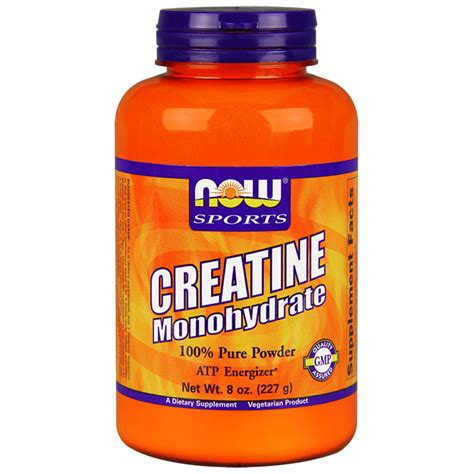 creatine on days creatine monohydrate powder 8 oz now foods day of