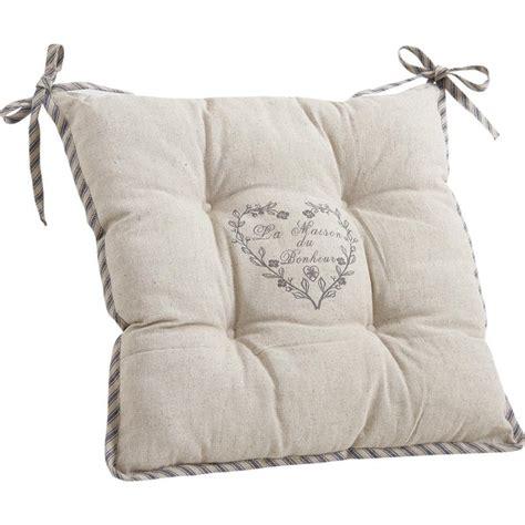galette de chaise maison du monde coussin de chaise maison du bonheur