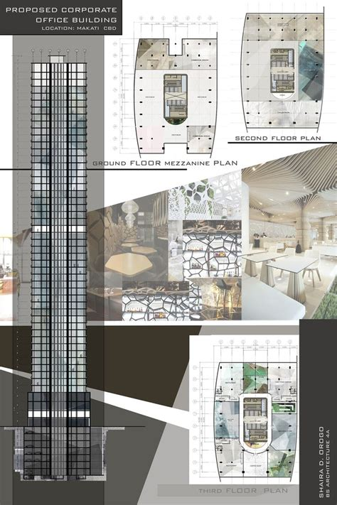 layout plan presentation architectural works by orogoshaira 22 architecture ideas