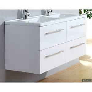 meuble vasque 120 blanc infinity neo infinido fr