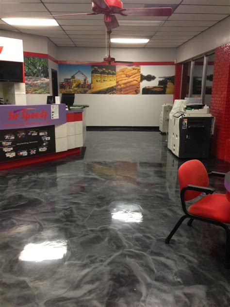 epoxy floors for syracuse ny corporate lobby entrance cny