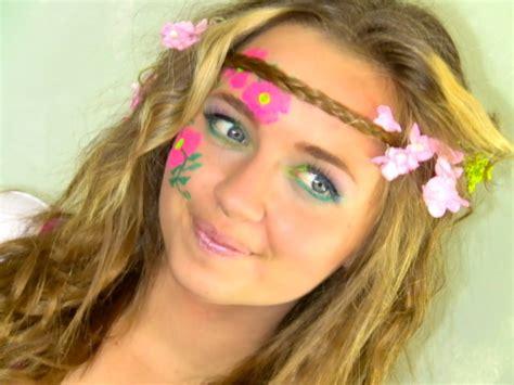 make up figli dei fiori 70 s hippie makeup mugeek vidalondon