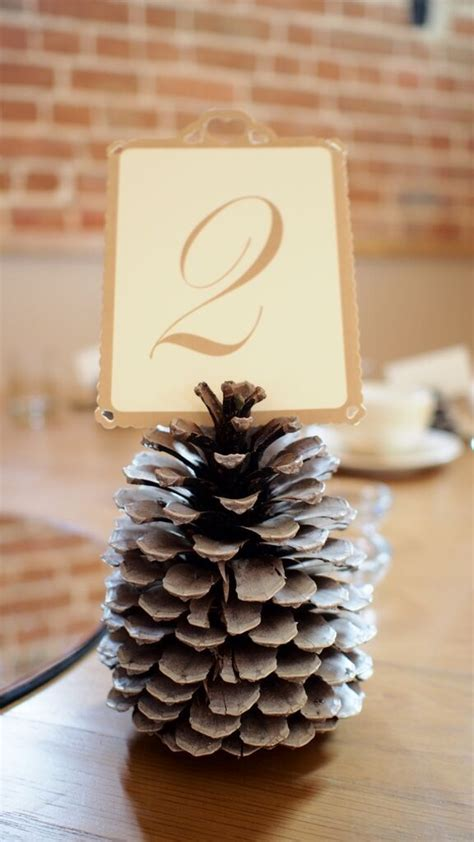 pine cone table decorations 25 best ideas about pine cone wedding on