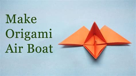 Origami Boat Step By Step - origami flying paper boat diy origami paper craft easy