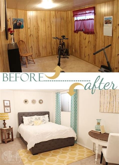 wood paneling makeover ideas 7 stunning room reveals makeovers guest rooms