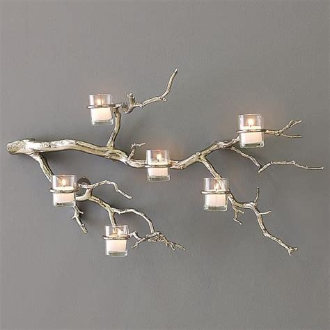 Tree Branch Wall Candle Holder Twig Candle Holder Tree Branch Candle Holders Wall Decor