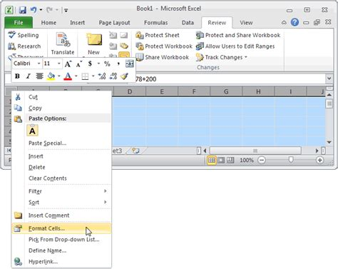 format excel tabs format tab in excel 2010 missing ms excel 2010 hide