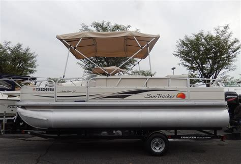 used pontoon boats for sale perris ca 2009 used suntracker 21 fishing barge pontoon boat for