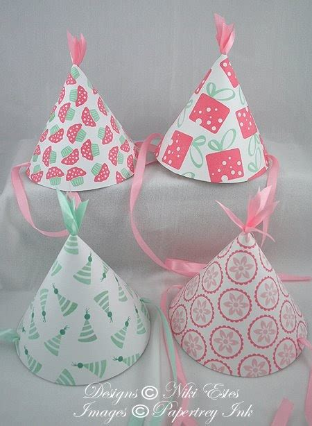 How To Make A Paper Birthday Hat - my paper creations hat tutorial