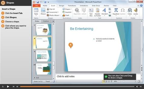 powerpoint 2010 template tutorial powerpoint 2010 training