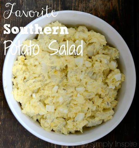 potato salad favorite southern potato salad recipe