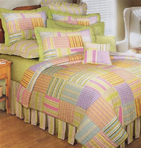 pastel bedding pastel stripes quilt and bedding