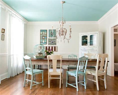 white walls colored ceiling dream home pinterest