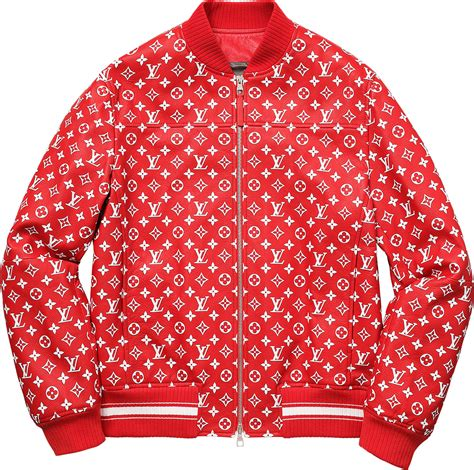www supreme supreme louis vuitton supreme leather baseball jacket