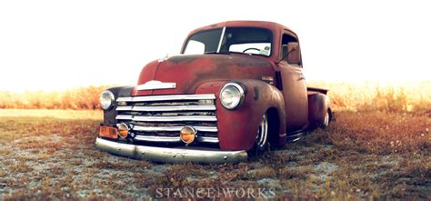 stance works larry fitzgeralds  chevy  pickup