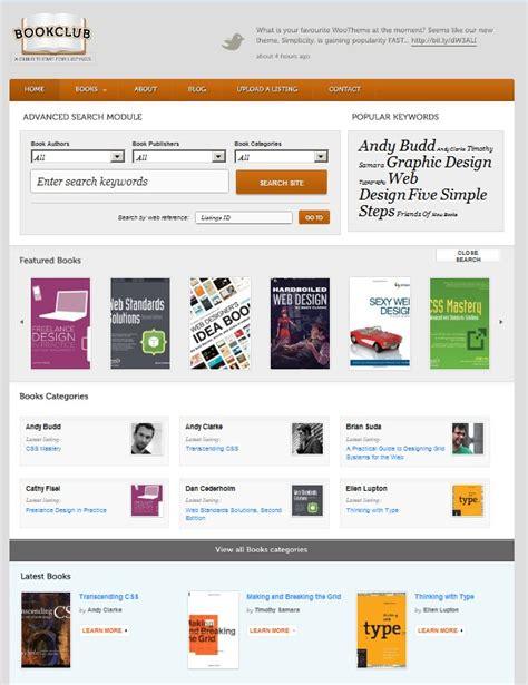 themes wordpress book book directory wordpress theme for online book club dobeweb