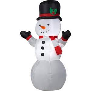 4 airblown inflatable snowman christmas inflatable